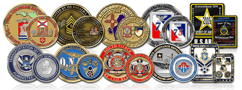 Custom Coin Design - Free Artwork | MilitaryCoinsUSA com