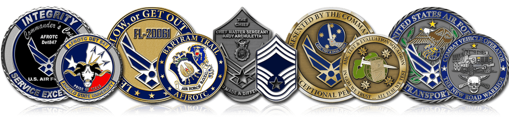 Air Force Coins Header