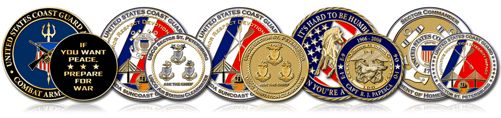 Coast Guard Coins Header
