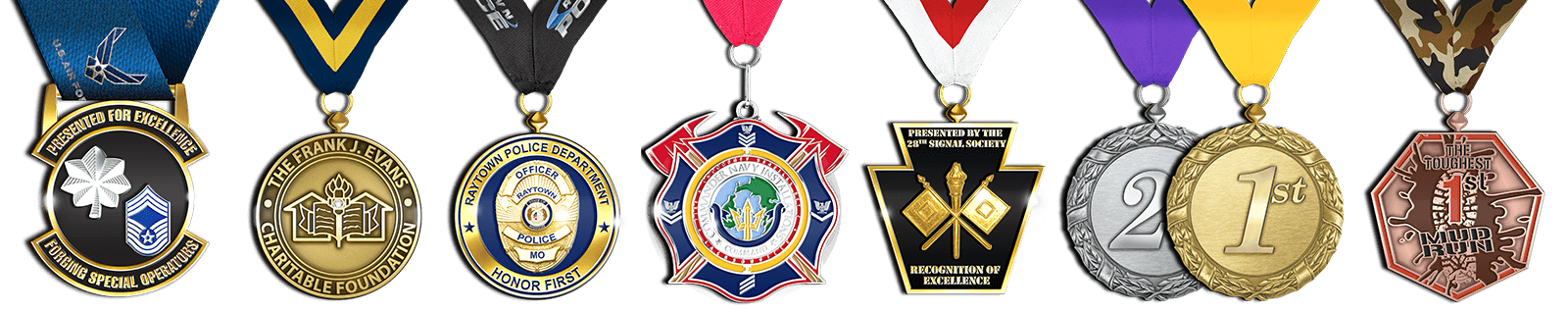 Medals and Awards Header