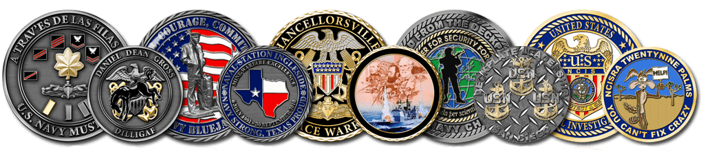 Order Custom Military Challenge Coins Online