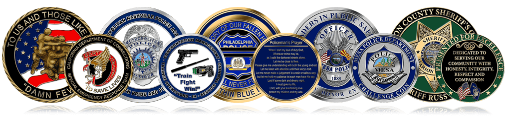 NYPD Coins Header