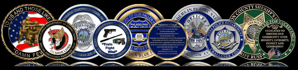 Police Coins Header