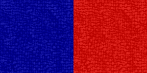 Red/Blue Ribbon Color