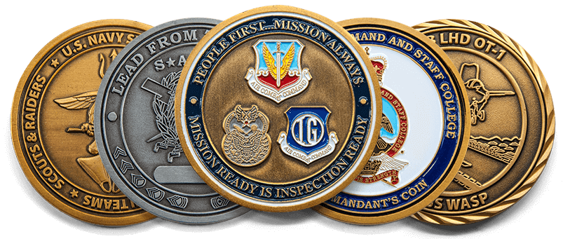 Custom Coins, Military Coins, Challenge Coin Maker Online | Buy Personalized  Military Challenge Coins Online | militaryCoinsUSA.com