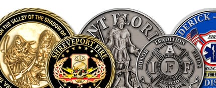 Fire Department Coins